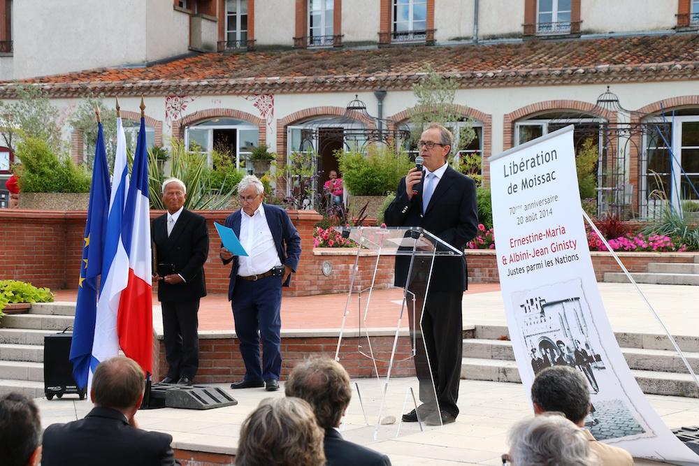 Nomination d'Ernestine-Maria et Jean-Albini Ginisty – 20 août 2014