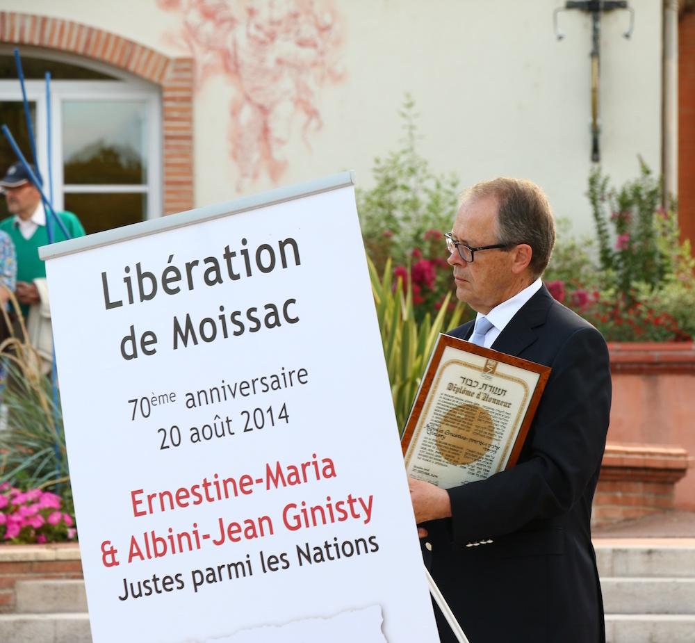 Jean-Michel Henryot maire de Moissac – 20 août 2014