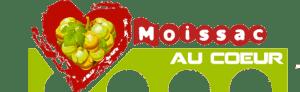 Logo Moissac au coeur
