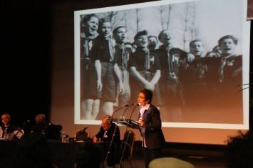 """C.Lewertowski rappelle le mantra de Shatta : """"A Moissac, on a choisi la vie et on a gagné""""."""