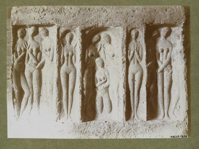 Moissey Kogan, Relief, 1922 or before