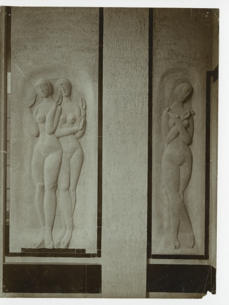 Moissey Kogan, reliefs for Gropius's Model Factory