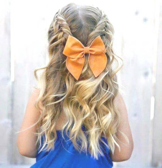 Прическа девочке на 1 сентября: как уложить волосы к ...
