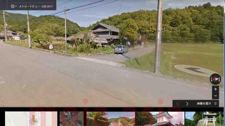 Googleマップストリートビューの更新