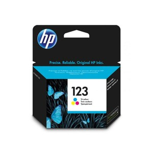HP 123 Tri-color Original Ink Cartridge (F6V16AE)