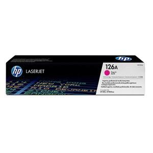HP 126A Magenta Original LaserJet Toner Cartridge (CE313A),
