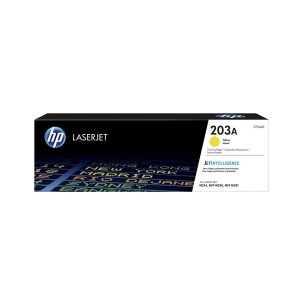HP 203A Yellow Original LaserJet Toner Cartridge (CF542A),