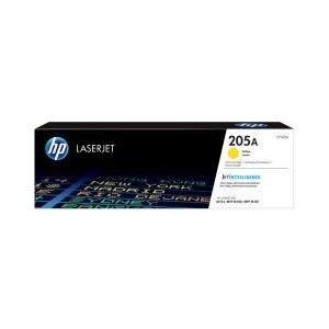 HP 205A Yellow Original LaserJet Toner Cartridge (CF532A),