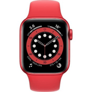 Apple Watch Series 6 GPS - (Product) Red Aluminum Case with Sport Band 40mm - Red