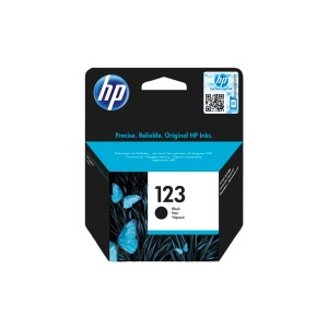 HP 123 Black Original Ink Cartridge 1