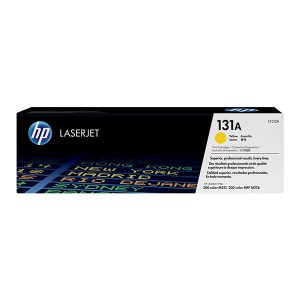 HP 131A Yellow Original LaserJet Toner Cartridge CF212A