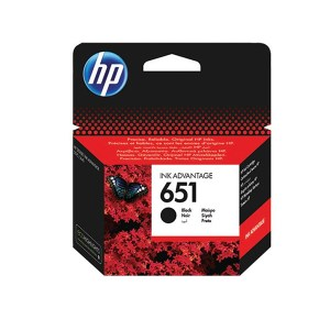 HP 651 Black Original Ink Advantage Cartridge C2P10AE 1