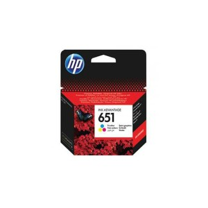 HP 651 Tri color Original Ink Advantage Cartridge C2P11AE