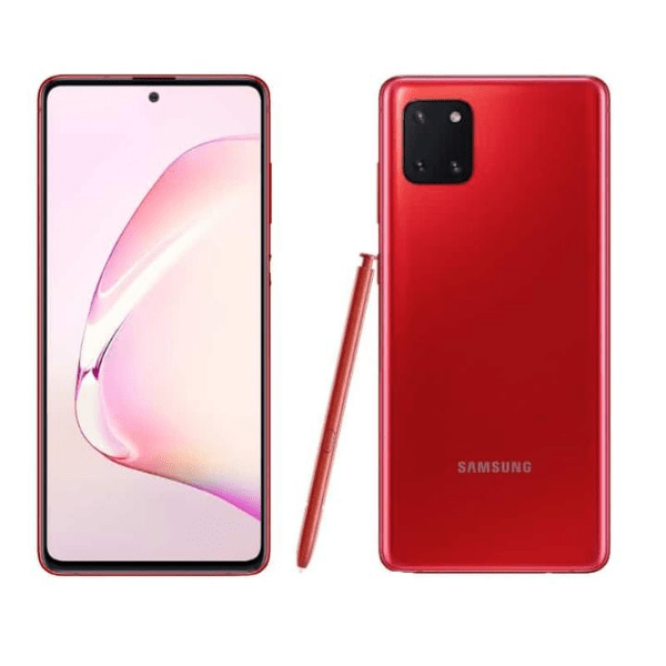 Samsung Galxy Note 10 Lite red
