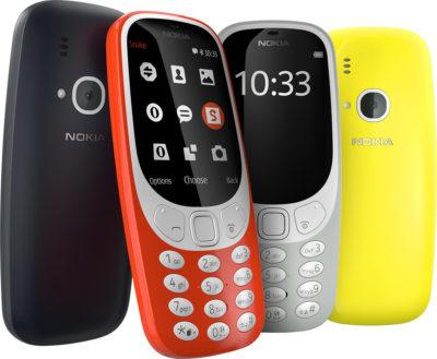 Nokia 3310 - mobilní telefony