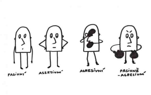 Asertivita, pasivita a agrese. Typy chování a jak být více asertivní.