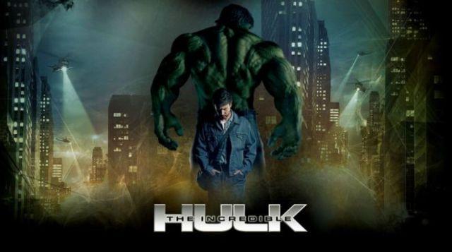 Neuvěřitelný Hulk - Marvel filmy pořadí