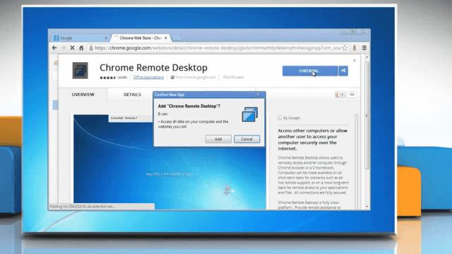 aplikace pro vzdálené ovládání počítače zdarma