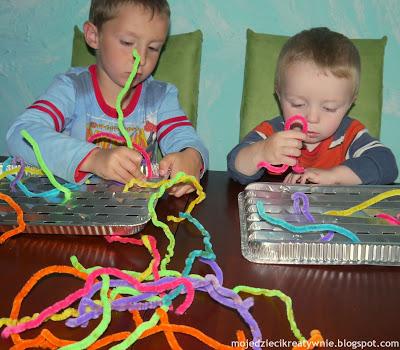 druciki kreatywne zabawy