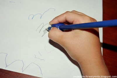 nakładki do nauki pisania