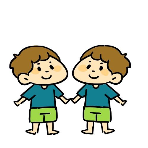 4歳児の箸について、双子男子の現状