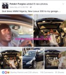 """New Lexus 330 Added To My Garage, God Bless MMM""-Young Nigeria Shares 'Testimony'"