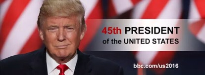 BREAKING NEWS: Donald Trump elected 45th US president