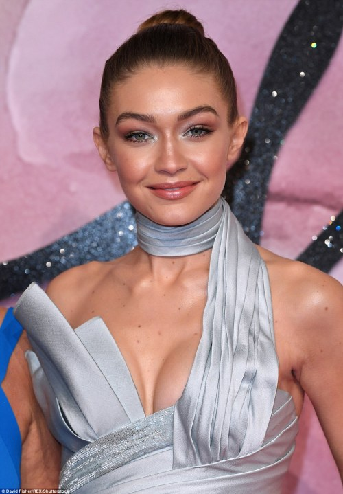 Battle Of The Jumpsuits! Check Out Gigi Hadid And Nicole Scherzinger's Outfits To The British Fashion Award