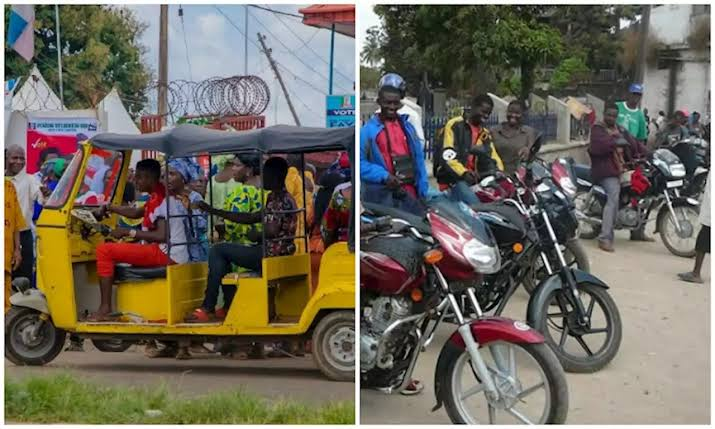 Tricycles and Okadas