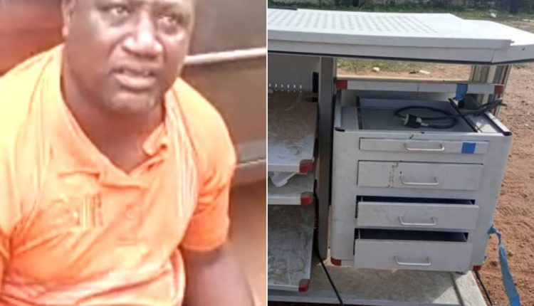 Pastor Arrested Over Looted Medical Equipment Worth N1.2b