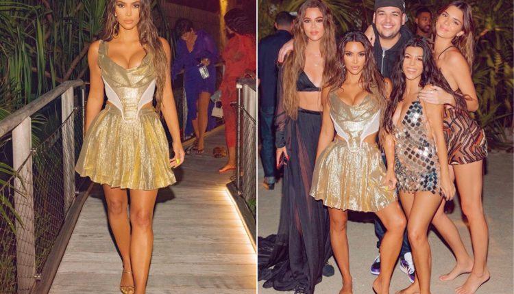Kim Kardashian Reportedly Spent $1 Million For Her Lavish 40th Birthday Bash