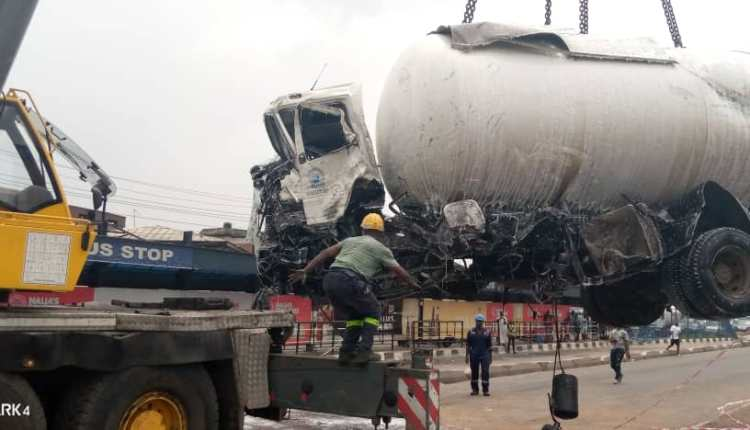 One Dies In Gas Tanker Accident In Lagos