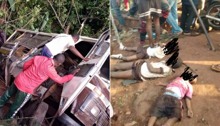21 Dead As School Bus, Trailer Collide In Enugu