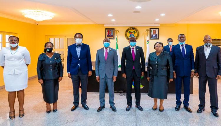 #EndSARS: Sanwo-Olu Swears-In Judicial Panel To Investigate Police Brutality, Human Rights Violation By SARS