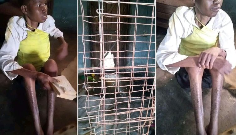 Woman Accused Of Witchcraft, Allegedly Caged For Three Years By Husband, Family Rescued In Delta