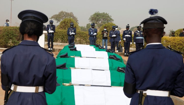 Victims Of Military Plane Crash Buried In Abuja