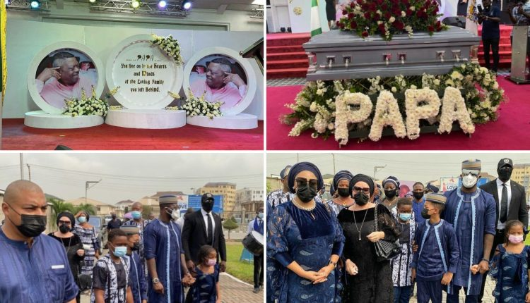 Peter Okoye's Father-In-Law Laid To Rest Today