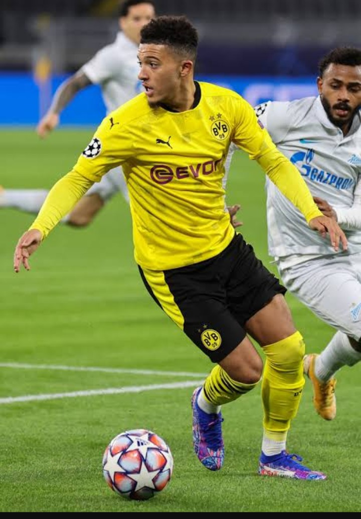Jodon Sancho will miss the game against Bayern Munich.
