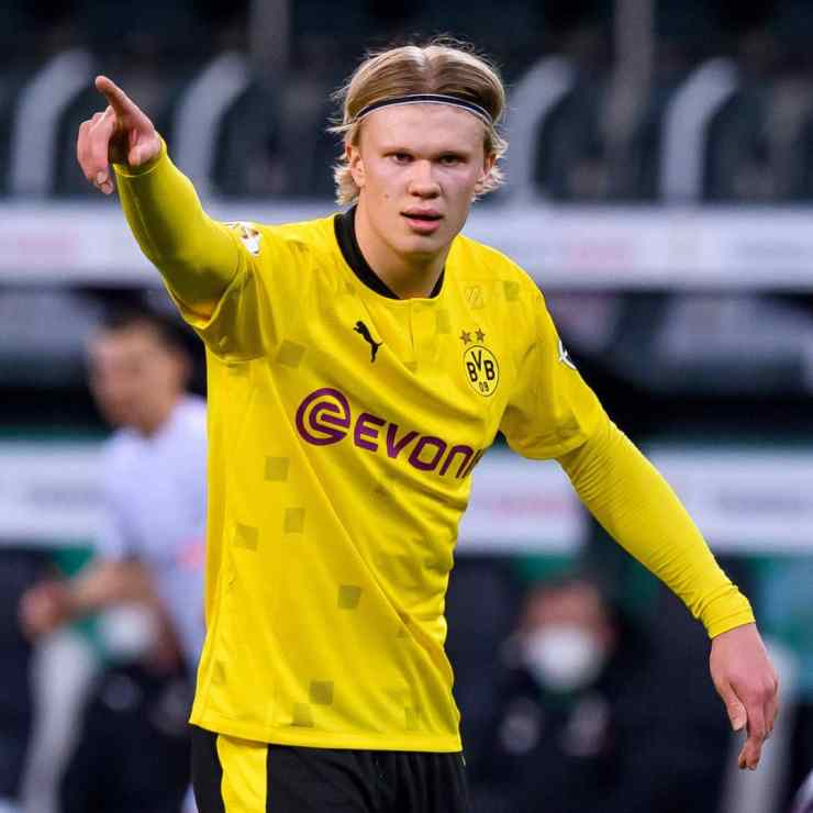 Dortmund will be depending on the goal scoring prowess of Erling Haaland.