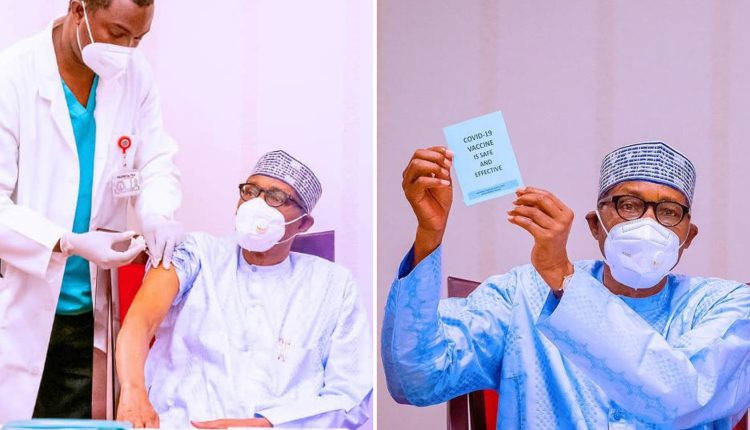 President Buhari Urges Nigerians To Take COVID-19 Vaccine, Says It's Safe