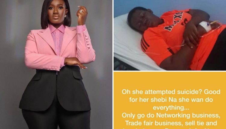 Comedian, Real Warri Pikin Reveals She Attempted Suicide Over Unpaid Debt, Shares Hurtful Messages Received From Creditors, Friends