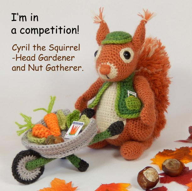 Amigurumi squirrel crochet pattern (With images) | Wzory ... | 608x611