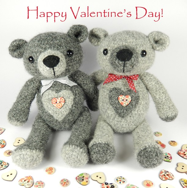 Valentine-bears