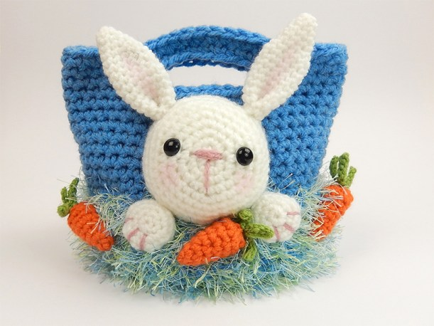 Bunny Easter Treat bag by Moji-Moji Design