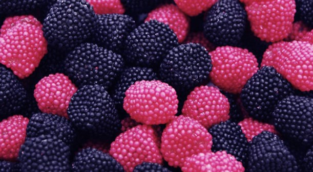 Rasberry-domes