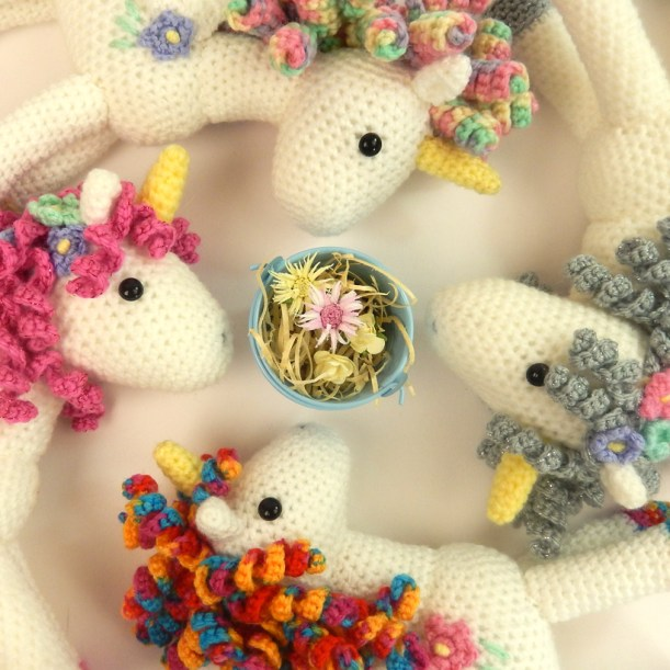 four unicorns