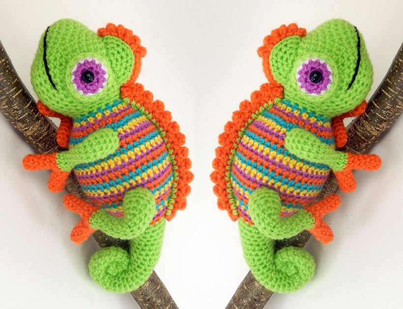 Forget Karma, These Tiny Crochet Chameleons Will Save Us All … Now ... | 630x820