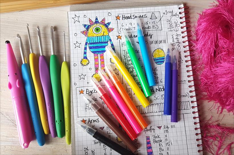 sketching-monsters