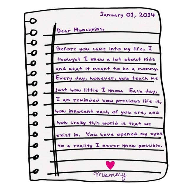 Dear Munchkins 01-01-2014