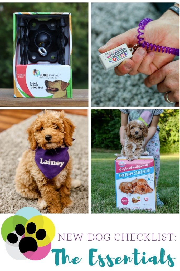 New Dog Checklist: Essentials for Your Pup - Mojitos and Munchkins